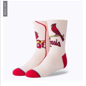 Kids cardinals Stance Socks